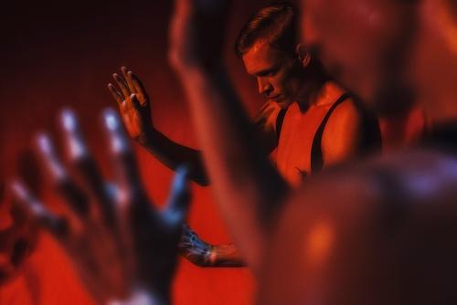 Nederlands Dans Theater 1 in Sharon Eyal and Gai Behar's 'Bedroom Folk.'