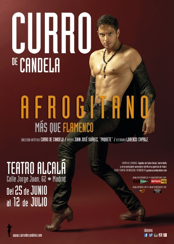 Poster for Curro de Candela's 'Afrogitano: Más Que Flamenco.' Photo courtesy of Curro de Candela.