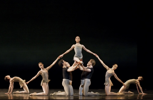 Sarah Lamb, Artists of The Royal Ballet in Kenneth MacMillan's 'Song of the Earth.'