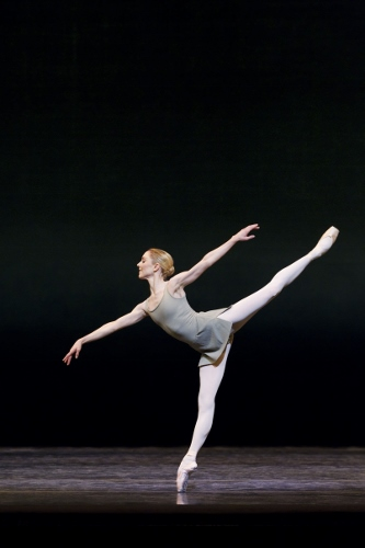 The Royal Ballet's Sarah Lamb in Kenneth MacMillan's 'Song of the Earth.'
