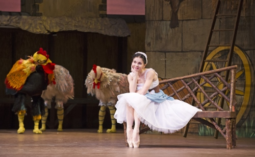 The Royal Ballet's Natalia Osipova as Lise in a scene from Frederick Ashton's 'La Fille mal gardée.'