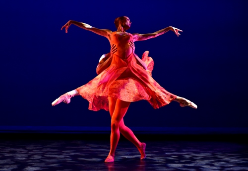 Ballet/NY's Katie Gibson and Giovanni Ravelo in Stanton Welch's 'Orange.'