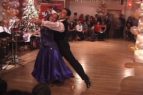 Stepping Out Studios Holiday Gala 2006 Linda Gammon & Jamie Cunneen dance American Waltz