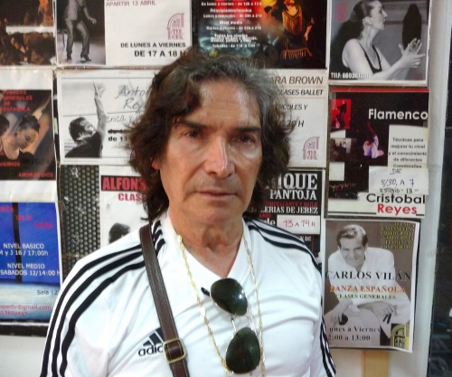 Cristóbal Reyes, master teacher, dancer and choreographer.