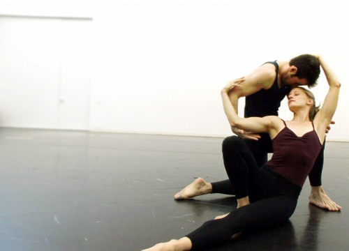 Dancers Robert Kleinendorst and Amy Young in a scene from 'Paul Taylor: Creative Domain.'