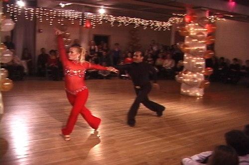 Stepping Out Studios Holiday Gala 2006 Lori Ann Greenhouse & Kelvin Roche dance Hustle