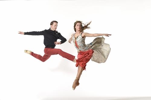 CDT dancers Christian Broomhall and Kerri Riccardi.