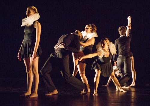 "James Hansen/Assemblage Dance in excerpts from Hansen's ""Lovely."""