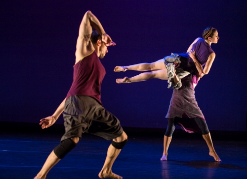 """White Wave Young Soon Kim Dance Company dancers in Kim's """"Here…Eternal NOW."""""""