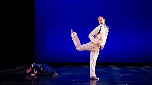 BODYTRAFFIC dancers in Richard Siegal's 'The New 45.'