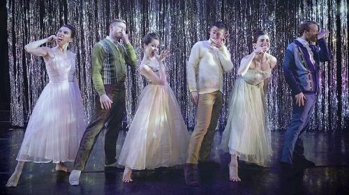BODYTRAFFIC dancers in Joshua L. Peugh's 'A Trick of the Light.'