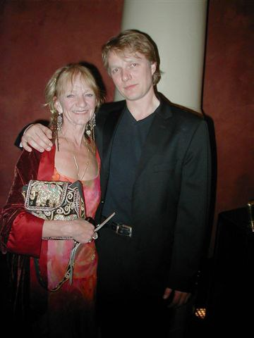 Lise la Cour and Her Son, Nilas Martins