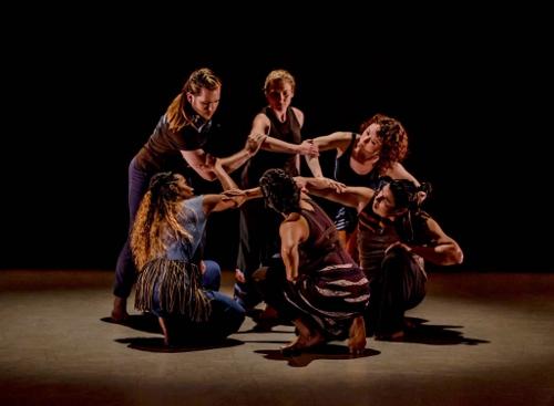 "Paufve|dance in Randee Paufve's ""Strangers Become Flowers."""