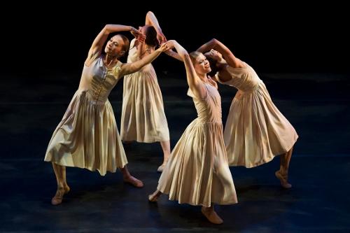 Limon Dance Company in Jose Limon's 'Mazurkas.'