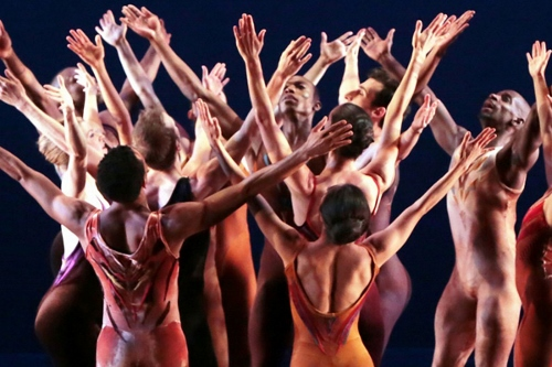Limon Dance Company in Jose Limon's 'The Winged.'