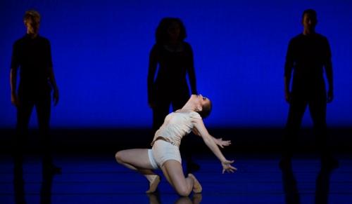 "Cincinnati Ballet's Sarah Hairston in Trey McIntyre's ""Wild Sweet Love."""