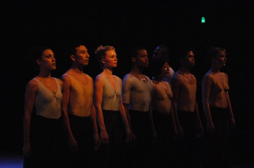 The Nilas Martins Dance Company performs Puccini's Messa di Gloria in a production for dancers and singers staged by choreographer Stephen Pier at Dicapo Opera Theatre
