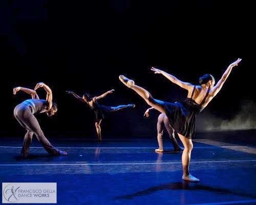 Philadanco dancers in Francisco Gella's 'Between the Lines.'