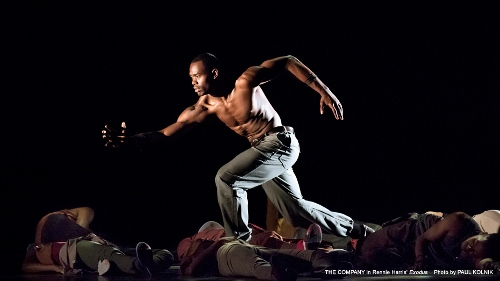 Alvin Ailey American Dance Theater dancers in Rennie Harris' 'Exodus.'