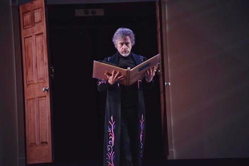 Ramón Oller as Dr. Coppélius in 'Coppélia.'