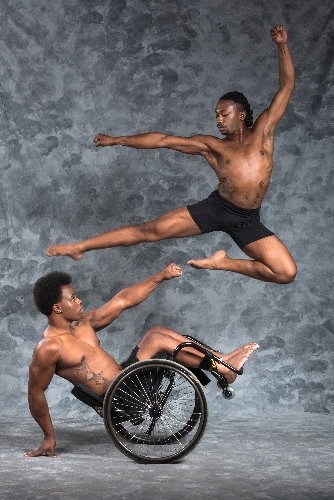 The Dancing Wheels Company performs Saturday, May 28, 2016 in the Anheuser-Busch Performance Hall.