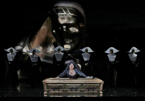Leah Crocetto (Donna Anna) in 'Don Giovanni.'