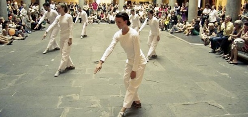 Trisha Brown Dance Company performing 'In Plain Site' at another venue.