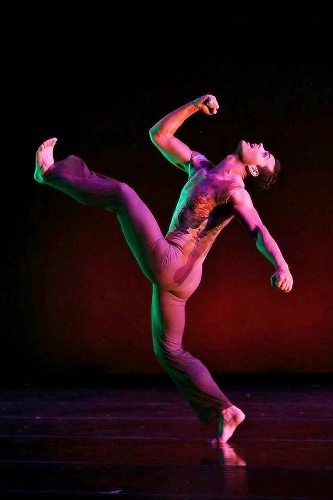Dance Kaleidoscope's Timothy June in David Hochoy's 'Pictures at an Exhibition.'