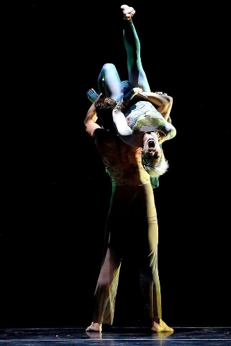 Dance Kaleidoscope's Jillian Godwin in David Hochoy's 'Pictures at an Exhibition.'