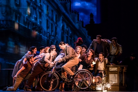 'An American in Paris' touring company.