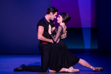 Garen Scribner and Sara Esty in 'An American in Paris.'
