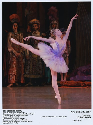Sara Mearns as the Lilac Fairy in NYCB's The Sleeping Beauty