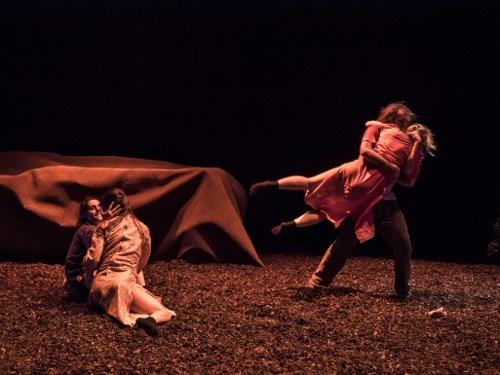 Vim Vigor Dance Company in 'Future Perfect.'