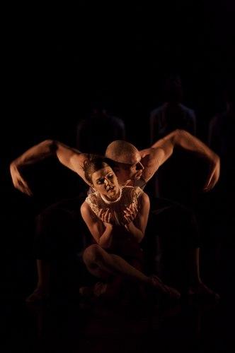 Jason Kittelberger and Jessica Coleman Scott in 'VASTAV' choreographed by Benoit-Swan Pouffer at Cedar Lake.