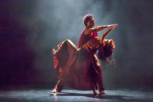 "Abdiel Jacobsen and Xin Ying in Sidi Larbi Cherkaoui's ""Mosaic."""