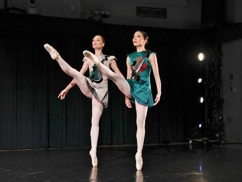 Photo: Harkness Dance Festival: New York Theatre Ballet<br>Antony Tudor's Les Mains Gauches (1951).