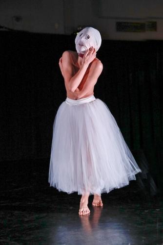 Photo: Harkness Dance Festival: New York Theatre Ballet<br>Martha Clarke's Nocturne (1994).
