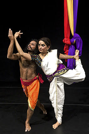 the founders of the company and lead performers:<br>Anil Natyaveda and Dr. Aparma Sindhoor