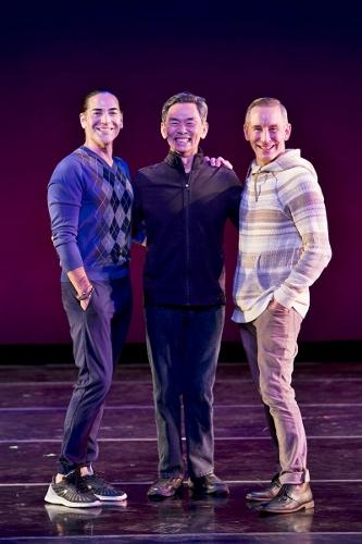 (l-r) Ricardo Melendez, David Hochoy and Todd Rosenlieb.