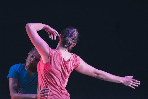 Antaeus Dance's Desmond L. Davis and Melissa Knestaut Ajayi in Joan Meggitt's 'Mercy.'
