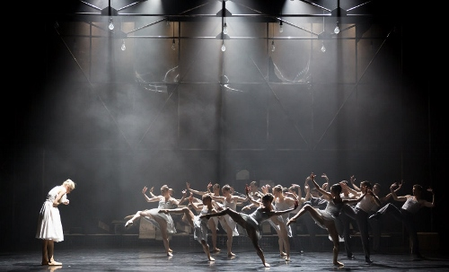 Eve Mutso and artists of Scottish Ballet in 'A Streetcar Named Desire.'