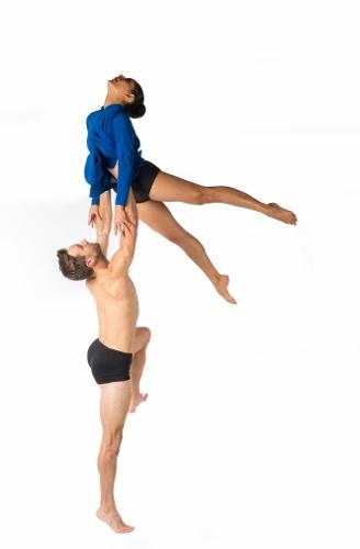 Limon Dance Company's Bradley Beakes and Elise Drew in Kate Weare's 'Night Light.'