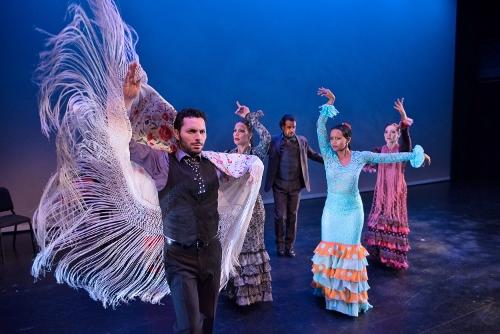 L to R - Isaac Tovar, Eliza Gonzalez, Antonio Hidalgo, Laura Peralta, Leslie Roybal.