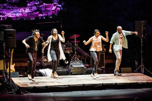 Savion Glover and cast