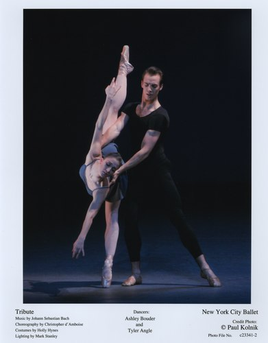 Ashley Bouder and Tyler Angle in NYCB's Tribute