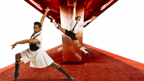 Pennsylvania Ballet Principal Dancers Jermel Johnson and Arian Molina Soca.
