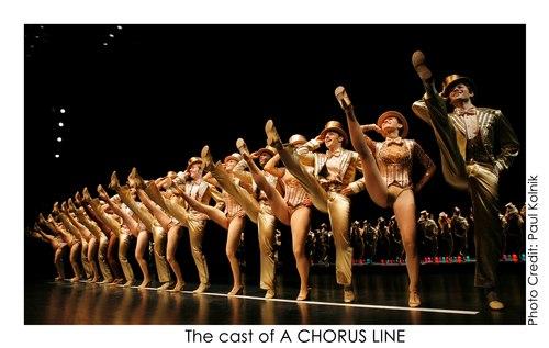 The cast of A Chorus Line