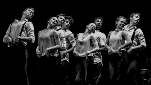 """From 2017's 'The Benefit': Dancers in Christian Broomhall's """"Bach Brandenburg Concerto No. 2."""""""