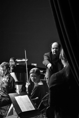 From 2017's 'The Benefit': Columbus Symphony Orchestra's Luis Biava conducts Camarata.