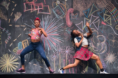 Camille A. Brown and Dancers in 'Black Girl: Linguistic Play.'